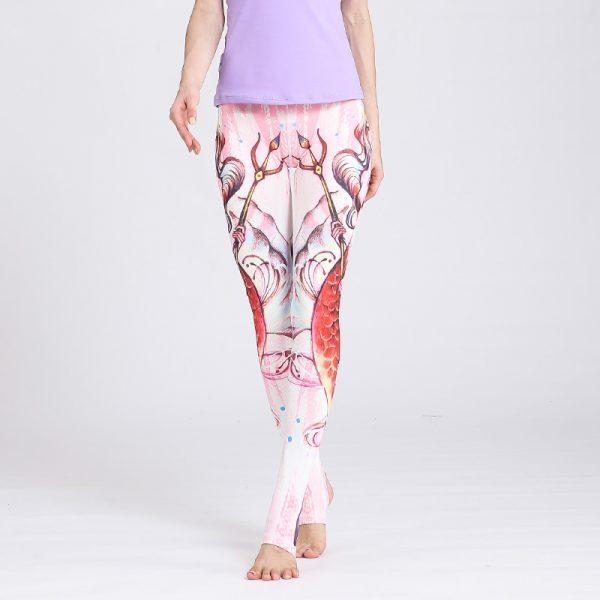 pink yoga legging submarine design