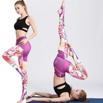 yoga legging submarine design model pausing