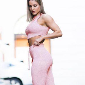 comfortable yoga set women fitness
